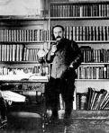 Kipling in his study 1895