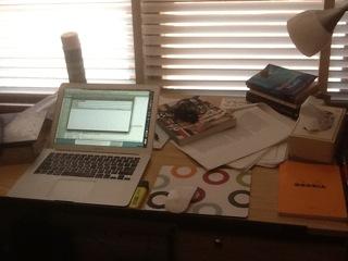 Paddy O'Reilly's desk