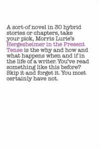 Hergesheimer in the Present Tense