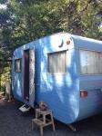 Alice Robinson's caravan
