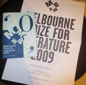 Melbourne Prize catalogues