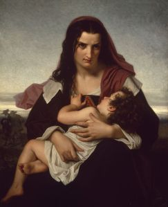 The Scarlet Letter by Merle Hugues (1823-1881) (Source Wikipedia Commons)