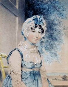 Maria Edgeworth by John downman 1807, source: Wikipedia Commons