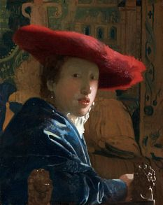 Girl with a Red Hat by Vermeer (Wikipedia Commons)