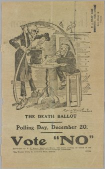 The Death Ballot poster 1917 (Wikipedia)